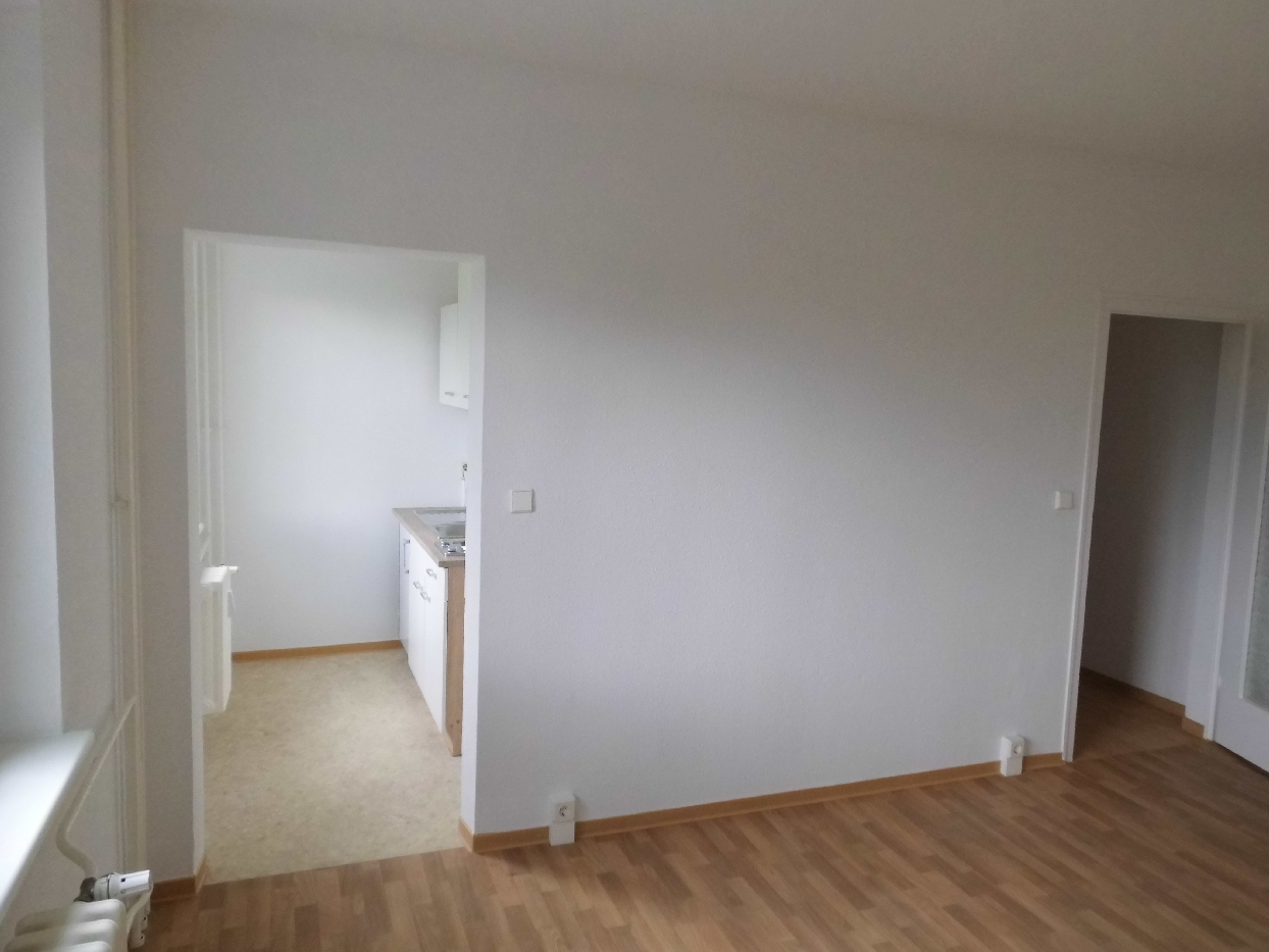 Kleine Wohnung mit Single-Küche - GuWo Guben